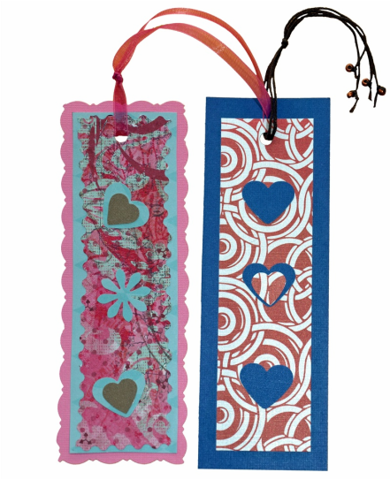 These Valentine Bookmarks are easy!