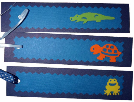 Little ones will enjoy adding stickers for their friends' bookmarks.